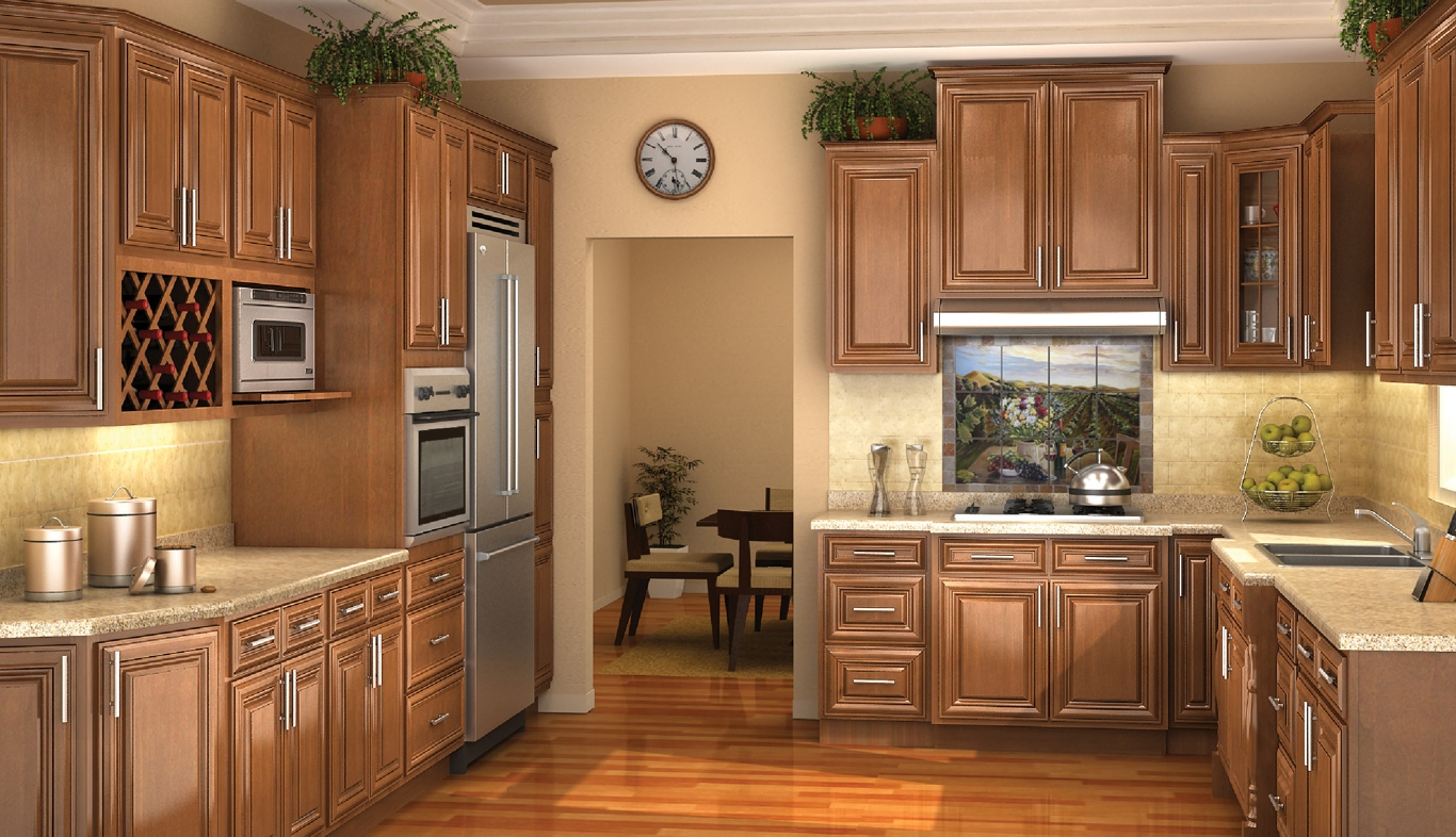Classic Kitchen Design Dark Maple Kitchen Second sun co